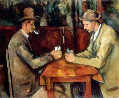 Les Joueurs de Cartes - Paul Cezanne
